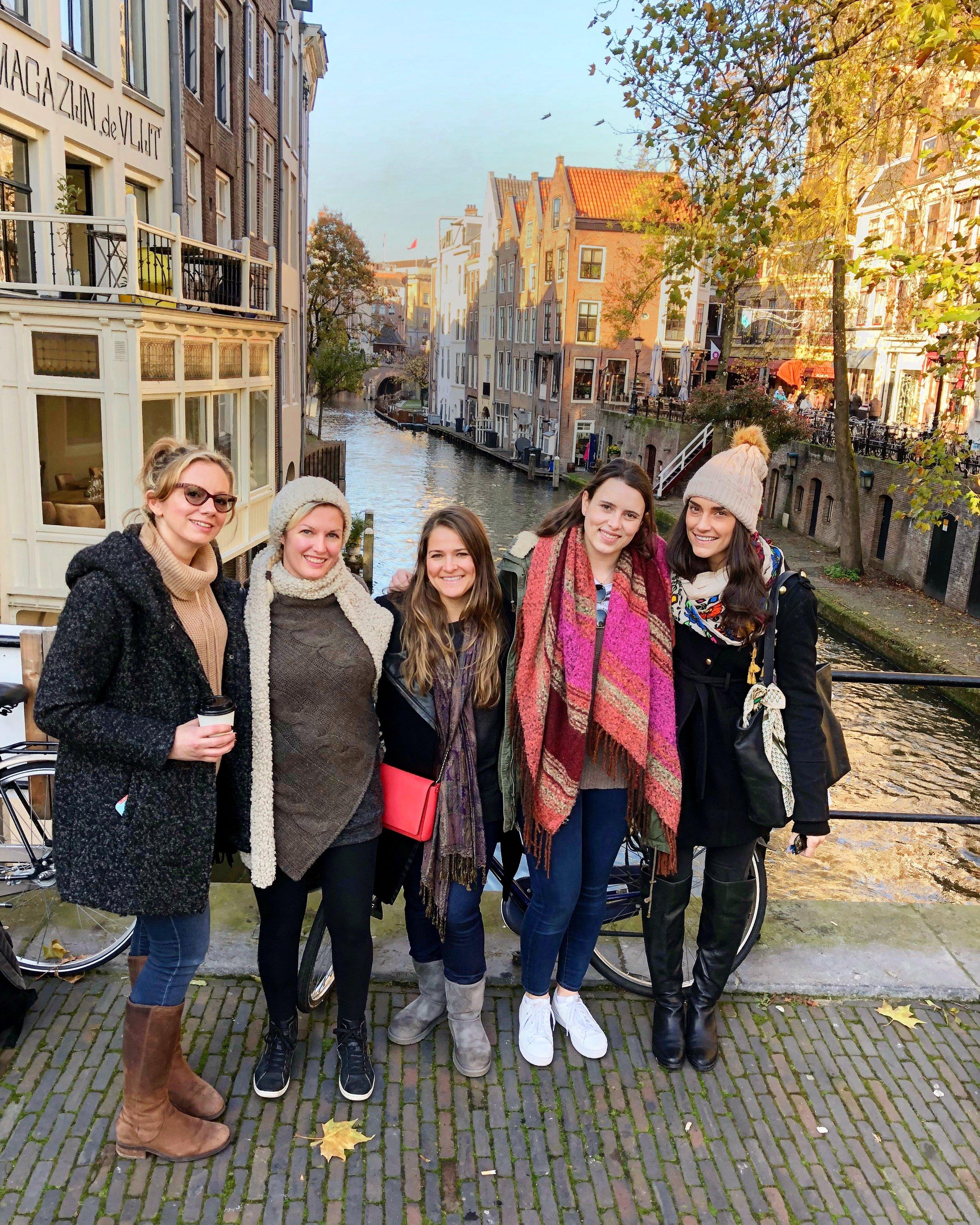 Utrecht Canal - The Kissters
