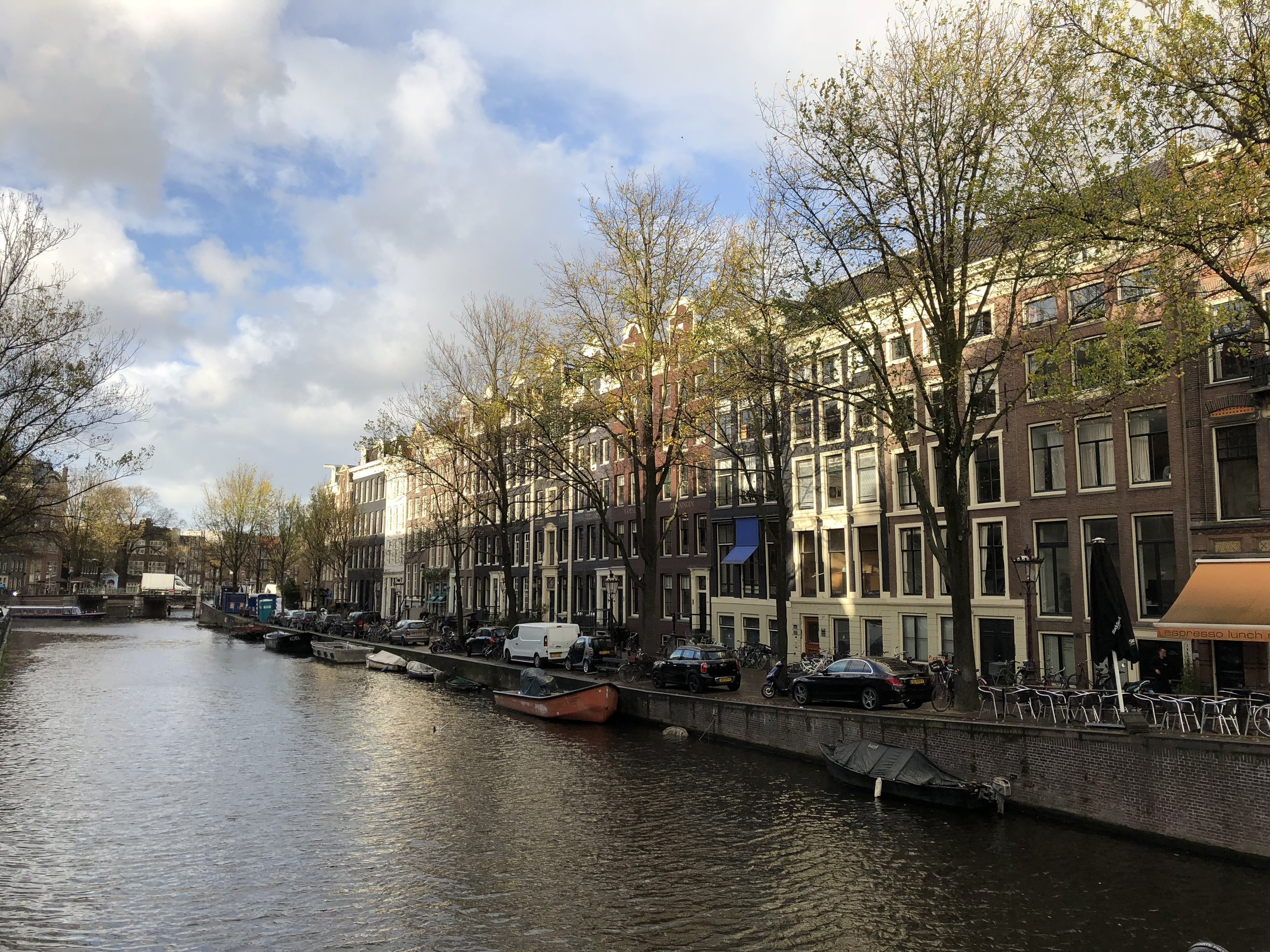 Amsterdam Canal - The Kissters