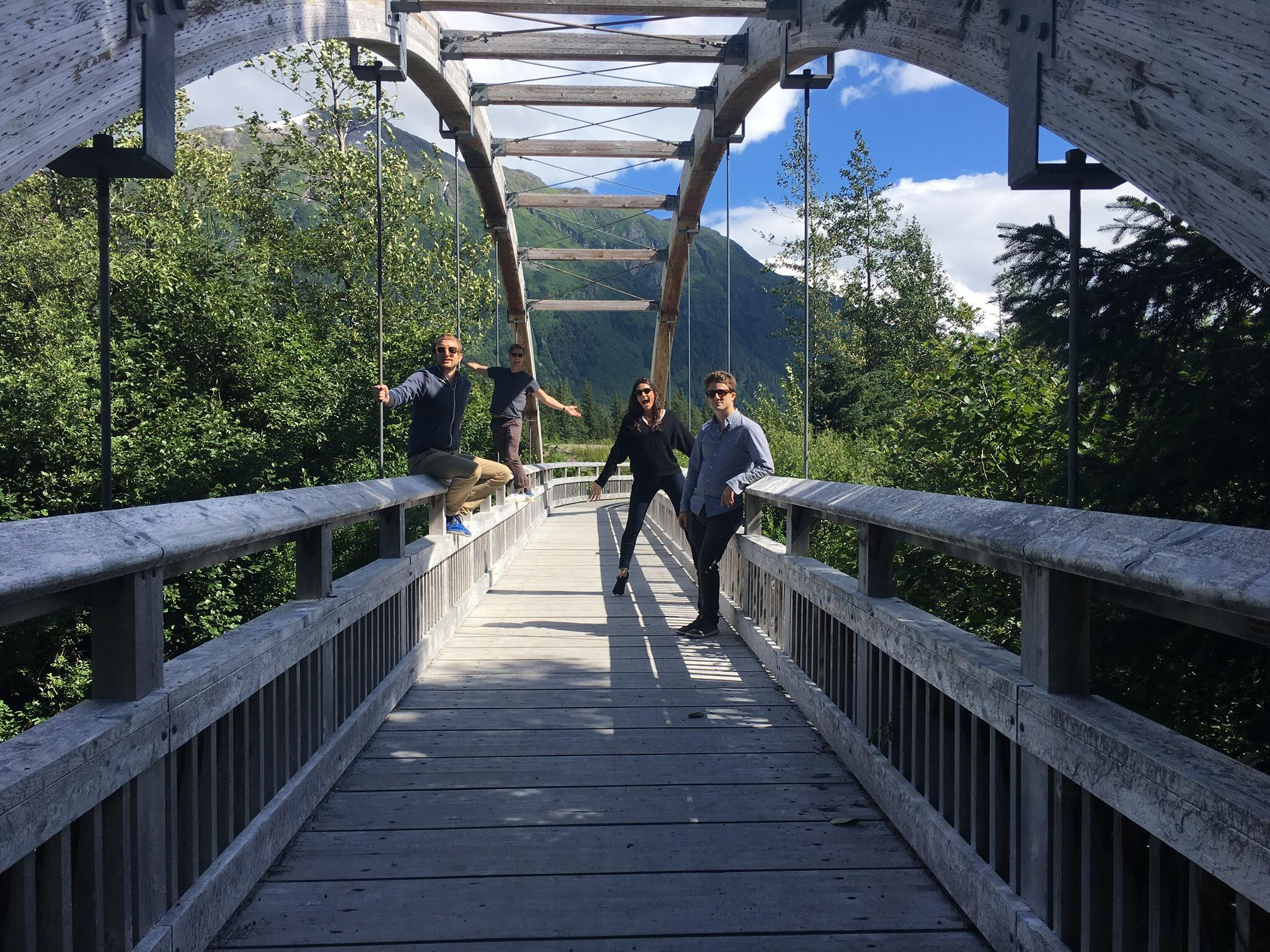 Alaska Bridge - The Kissters