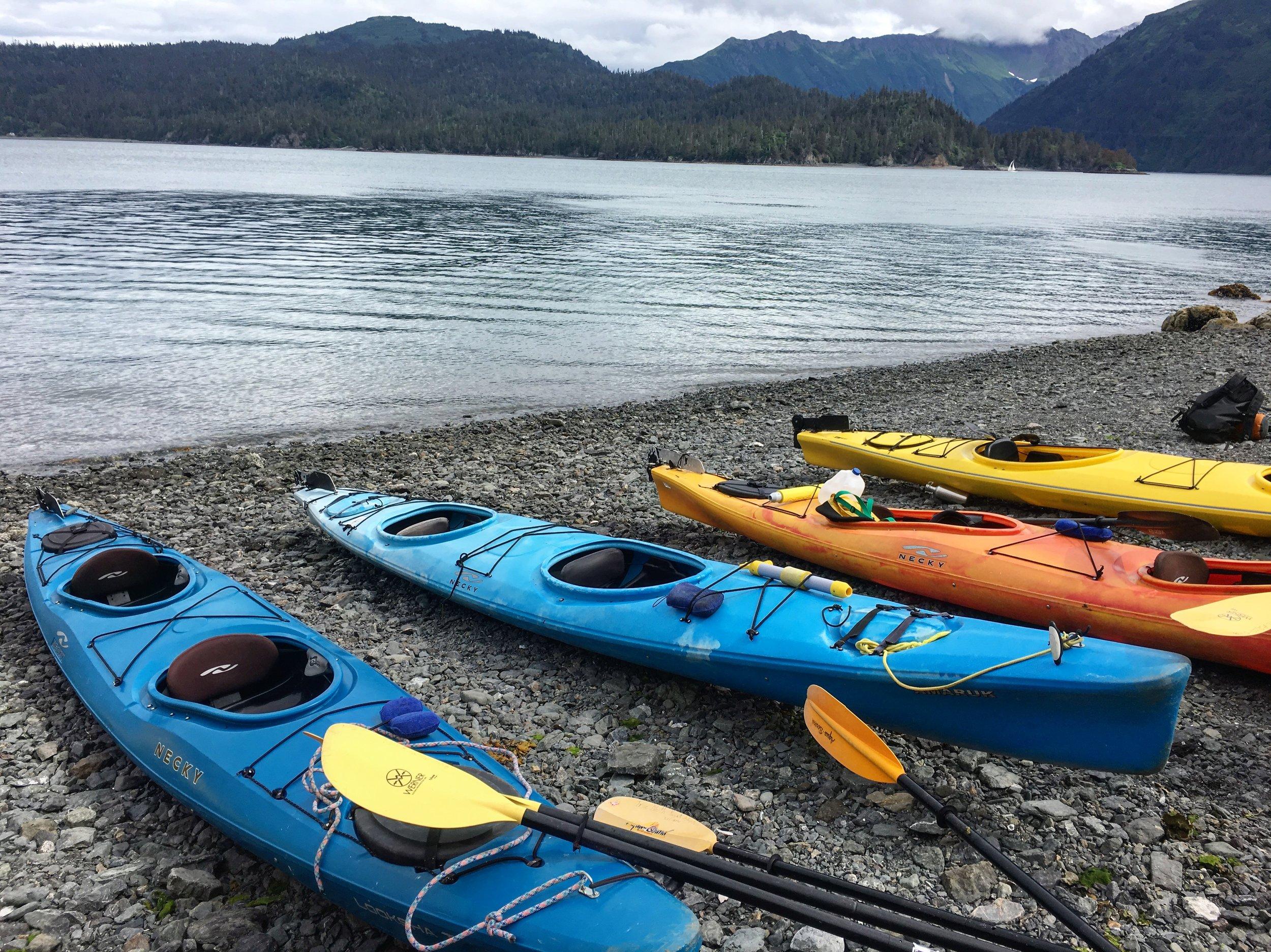 Alaska Kayaking - The Kissters