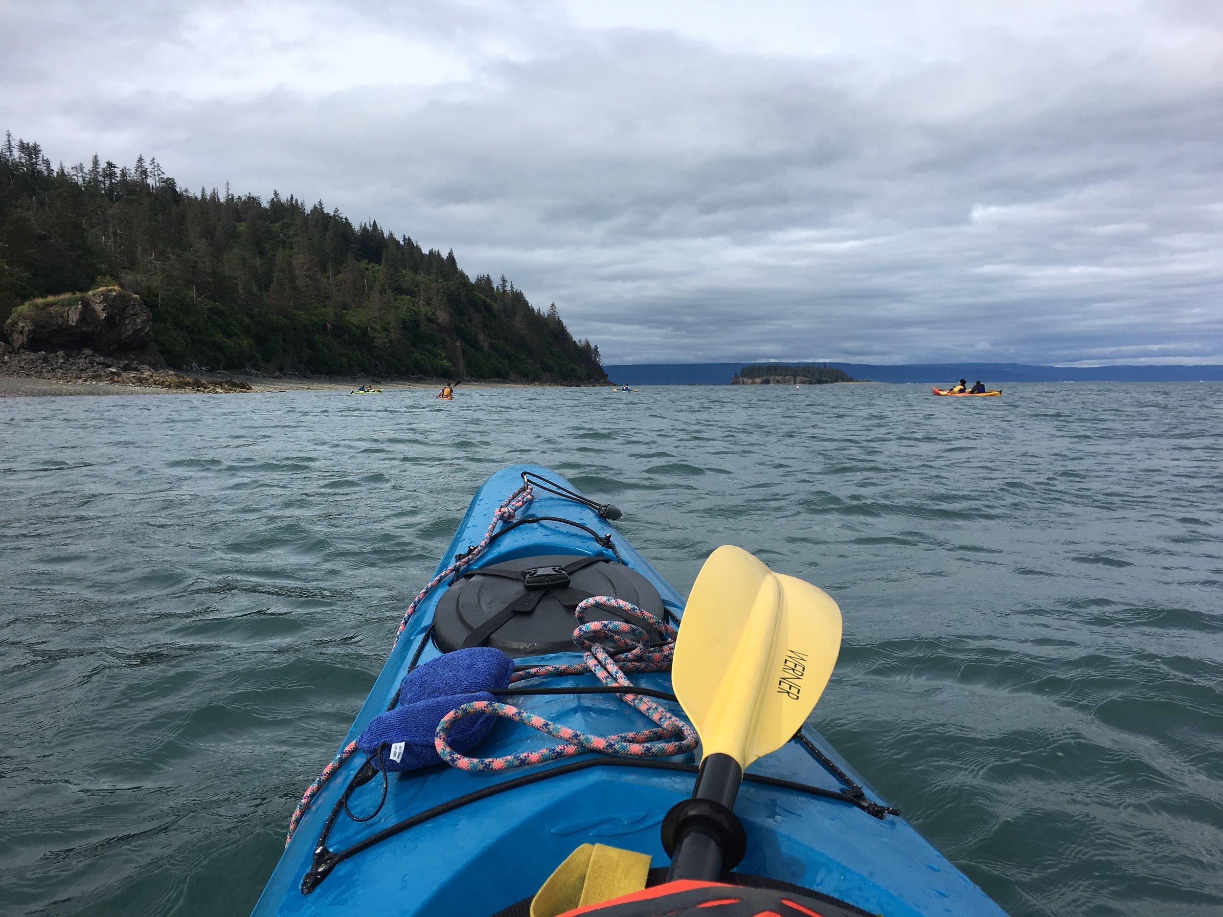 Alaska Kayak - The Kissters