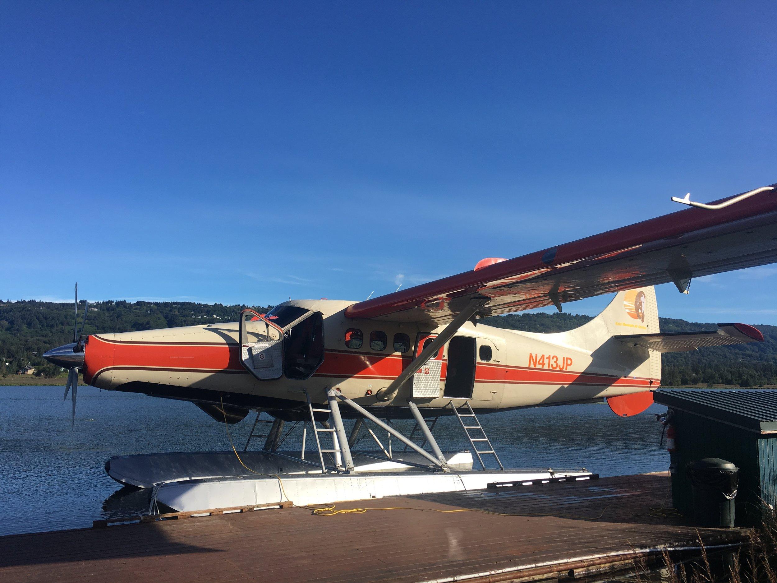 Homer Alaska Float Plane - The Kissters