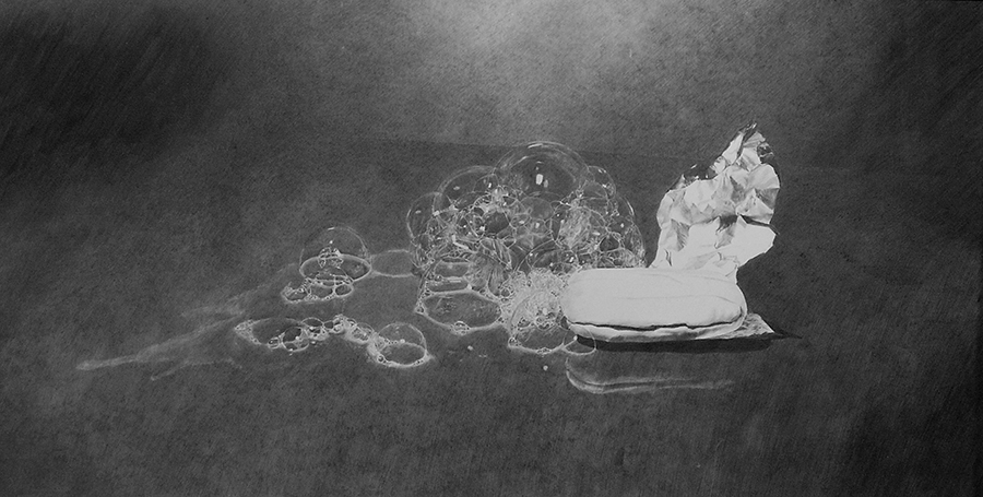 a Nagy szappanos kép, mely megjárta a Henkel Art.Award pályázatot is, és, amely az első szponzor tulajdonába került - nagy örömömre