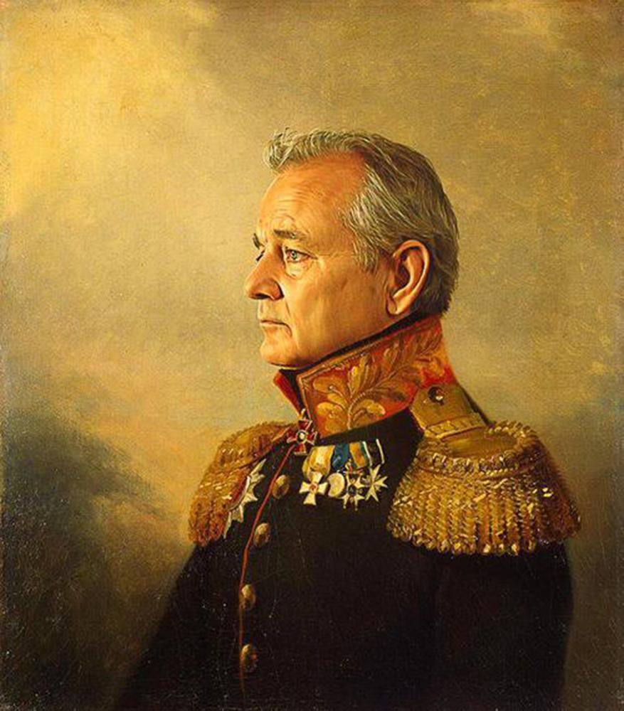 Bill, egy másik Murray, Michel képén