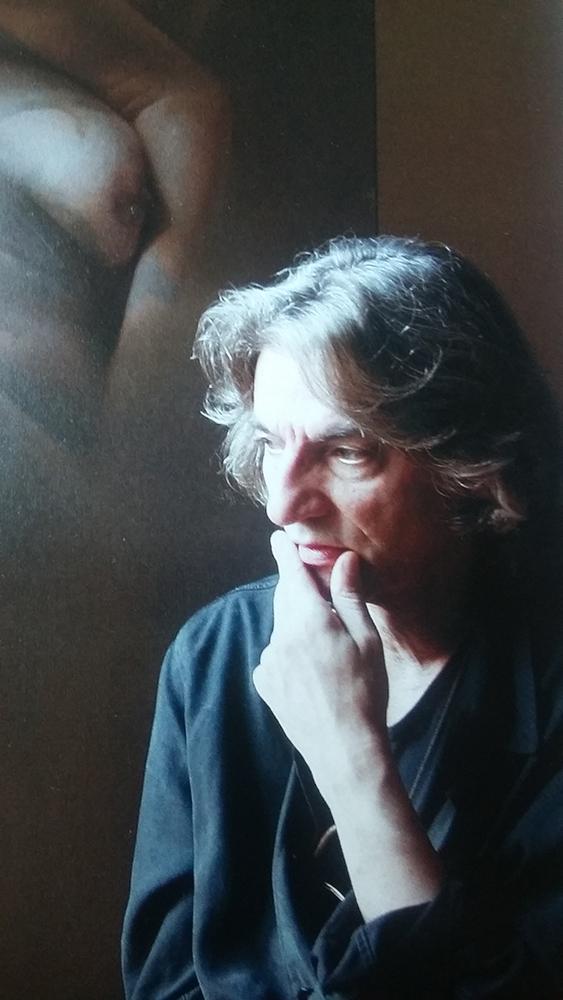 Sándorfi István portréja a Makláry Kálmán Fine Arts katalógusából