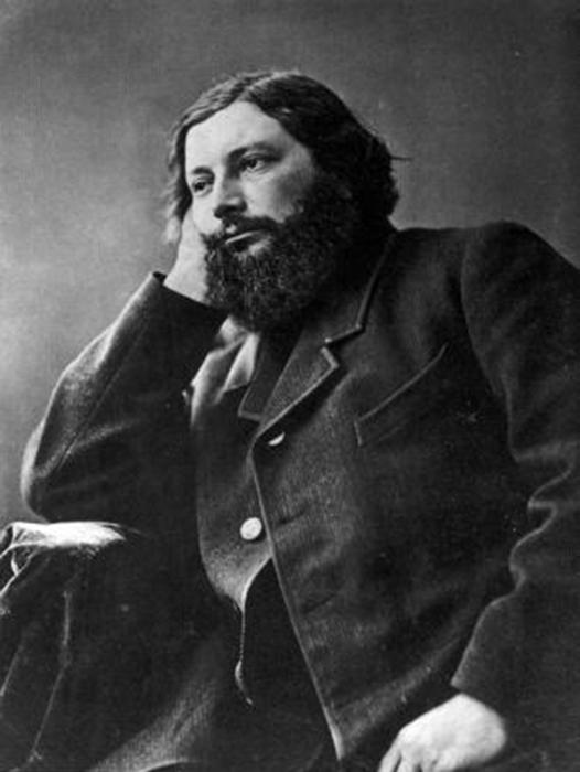 Gustav Courbet fotója