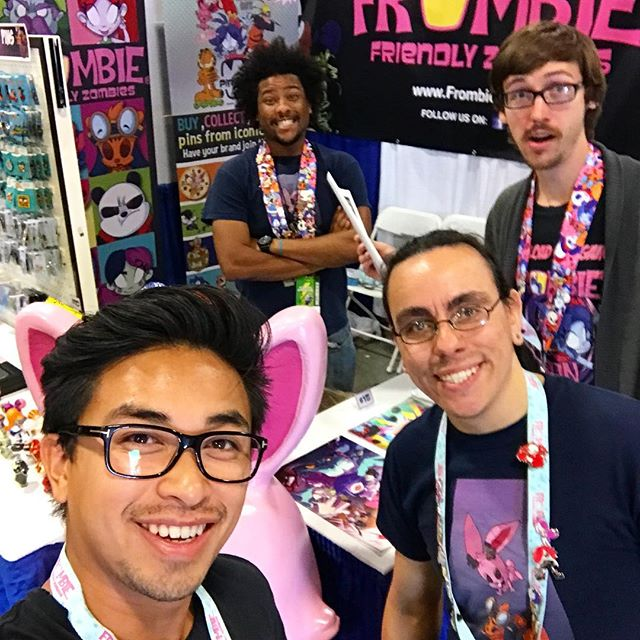 Stop by our booth! 936 @floridasupercon #supercon #frombie #pinclub 😄🕺🏼