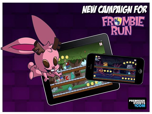 Love our @frombierun game? Do you want some awesome exclusives? Our #frombierun Pre Order Event is officially LIVE! http://frombierun.limitedrun.com 👀