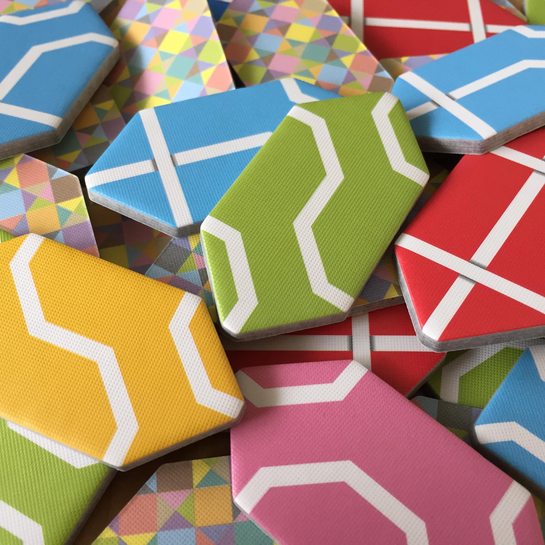 RUPEES!!! .... errr tiles... 42 tiles (7 of each color)