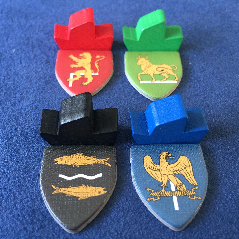 Lannister, Baratheon, Tully, & Arryn