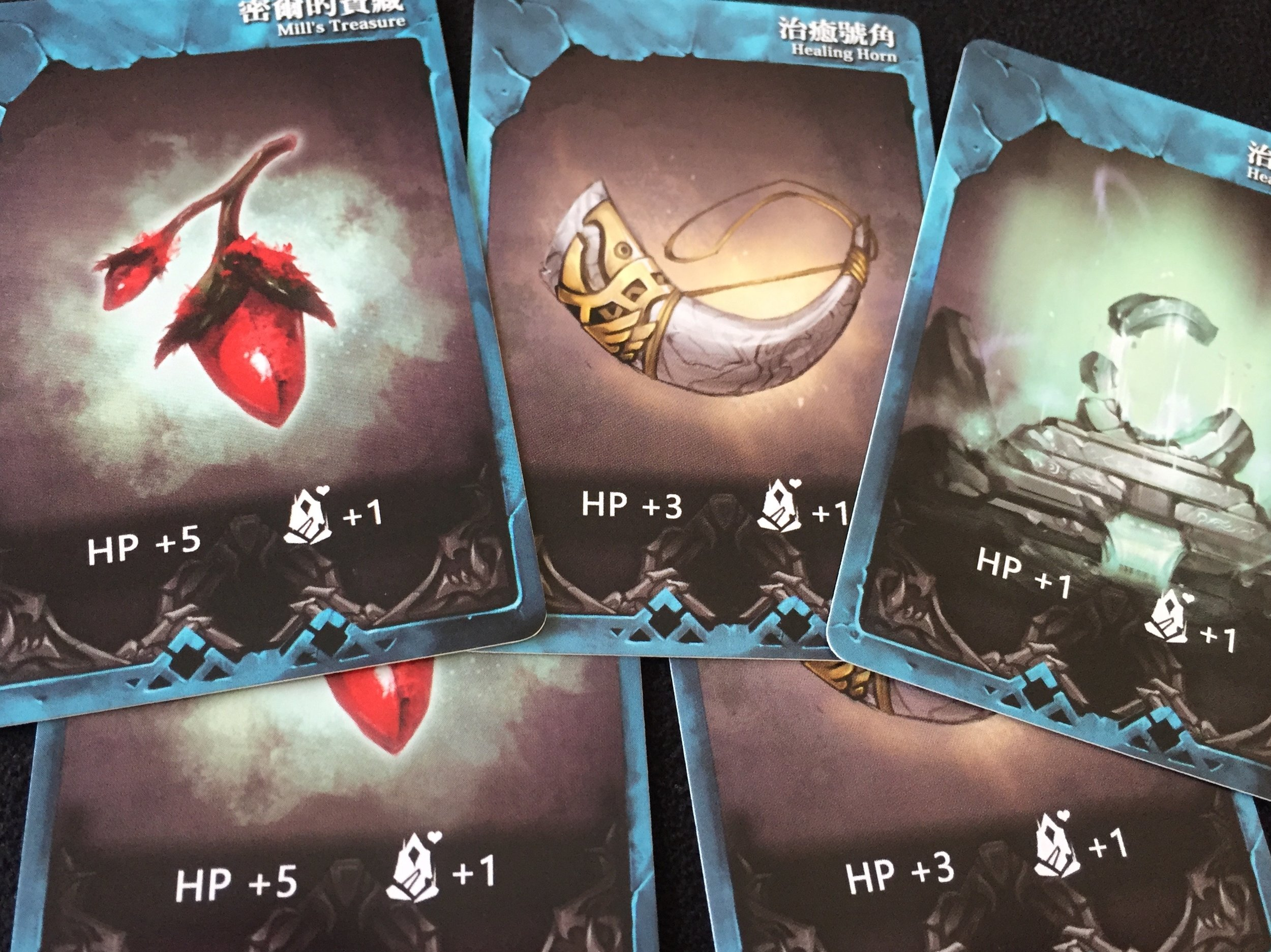 All 5 Healing cards