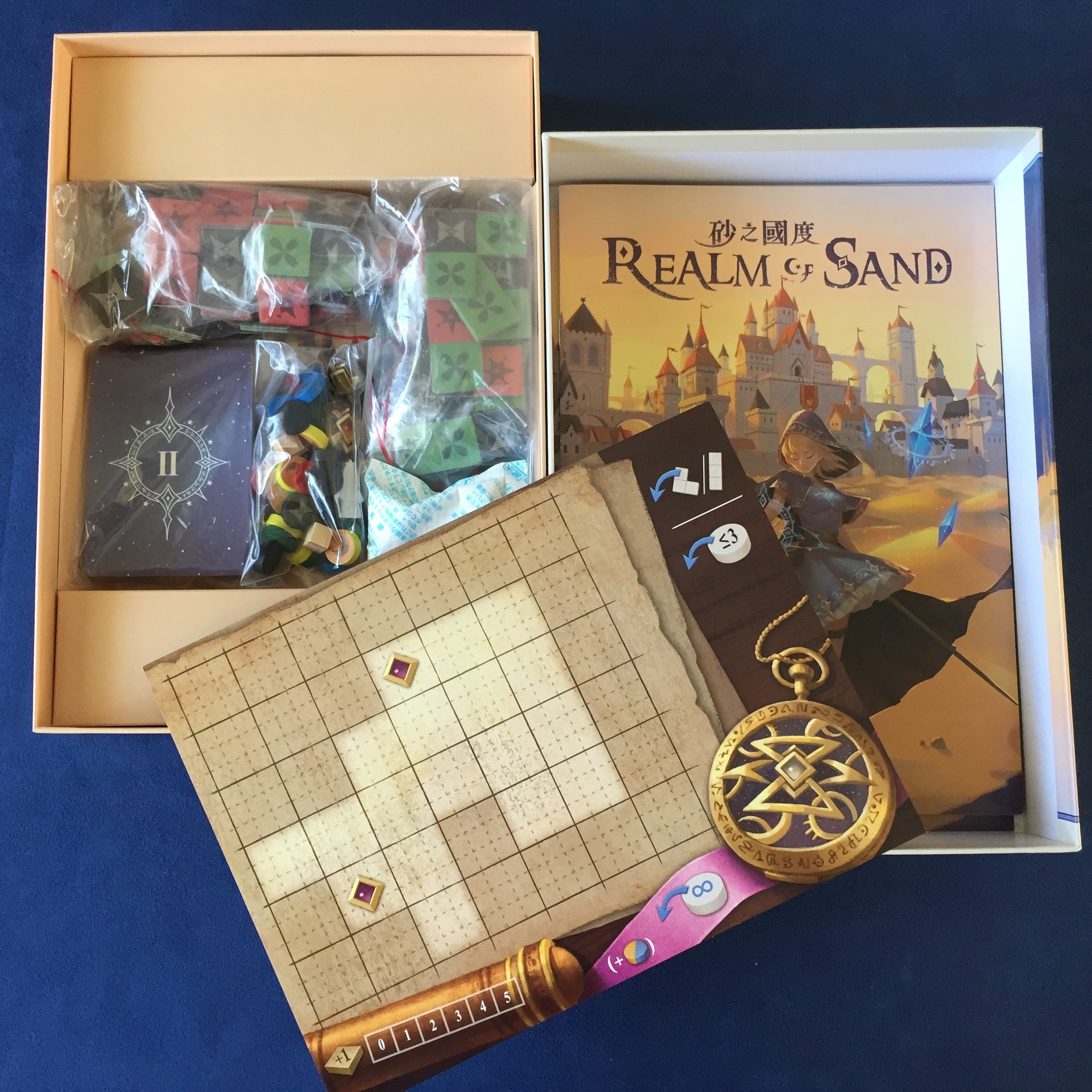 The third of EmperorS4's mid-sized boxes. Realm of Sand easily fits in any backpack.