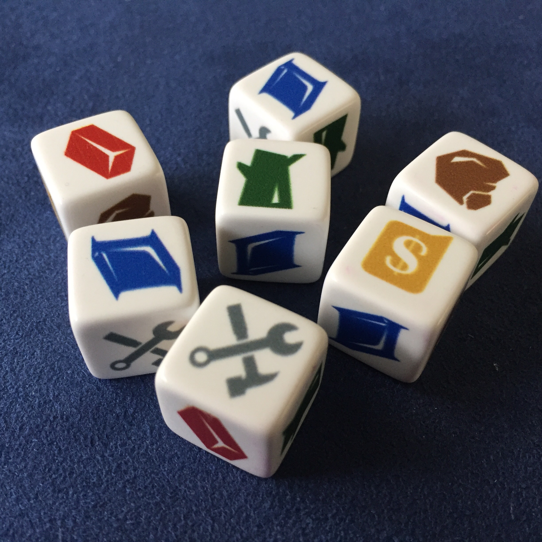 7 resource dice!