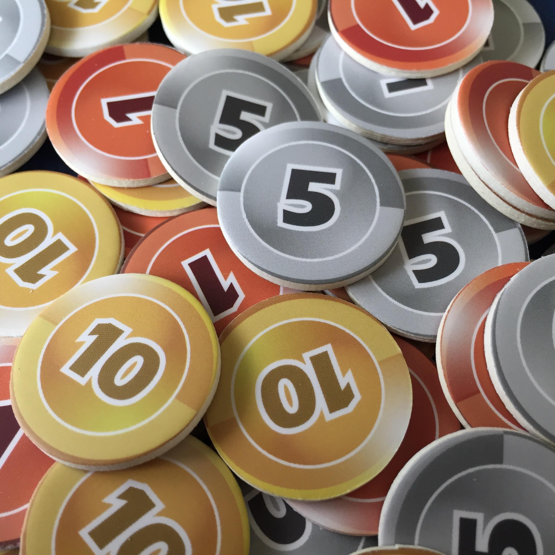 money tokens