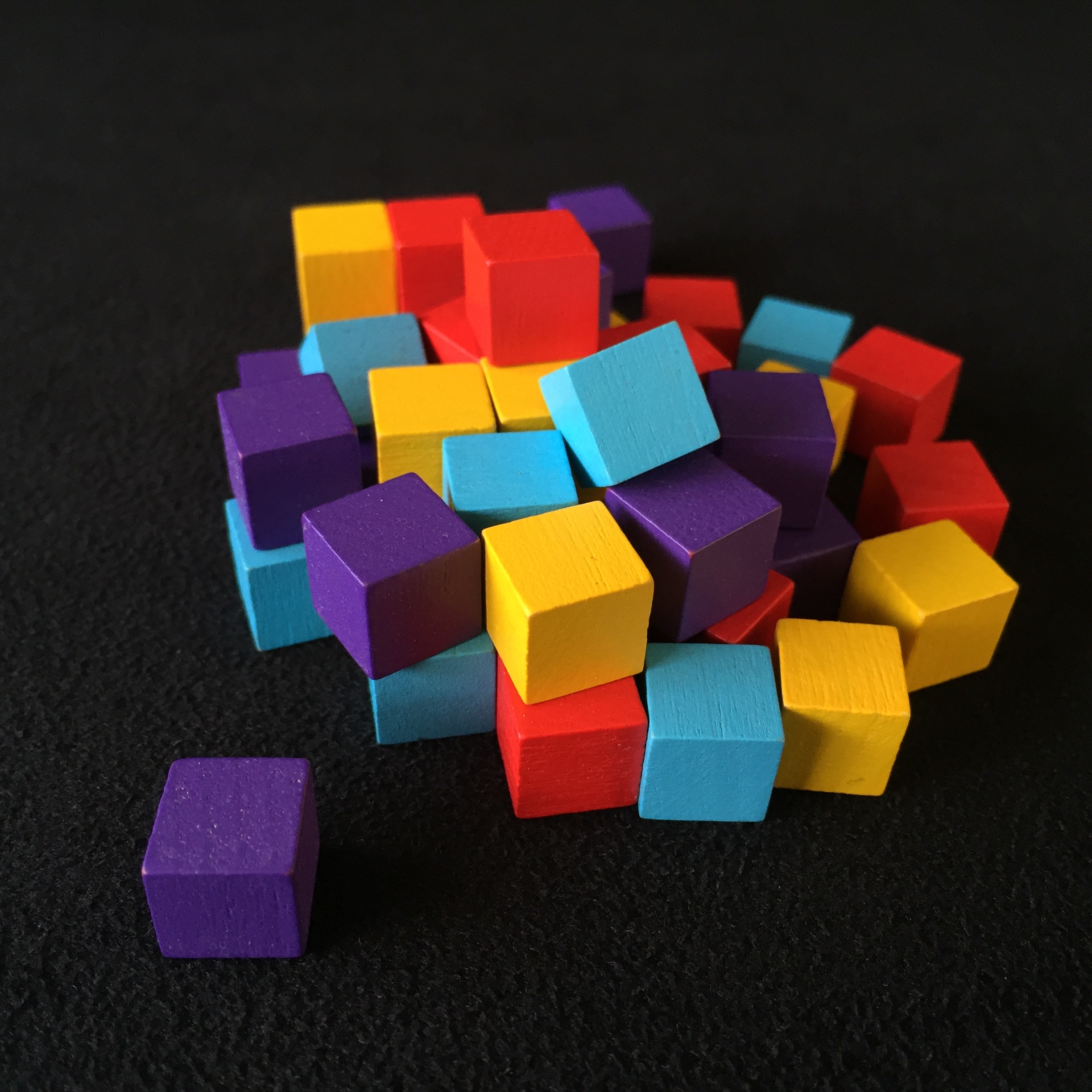 cubes of resource