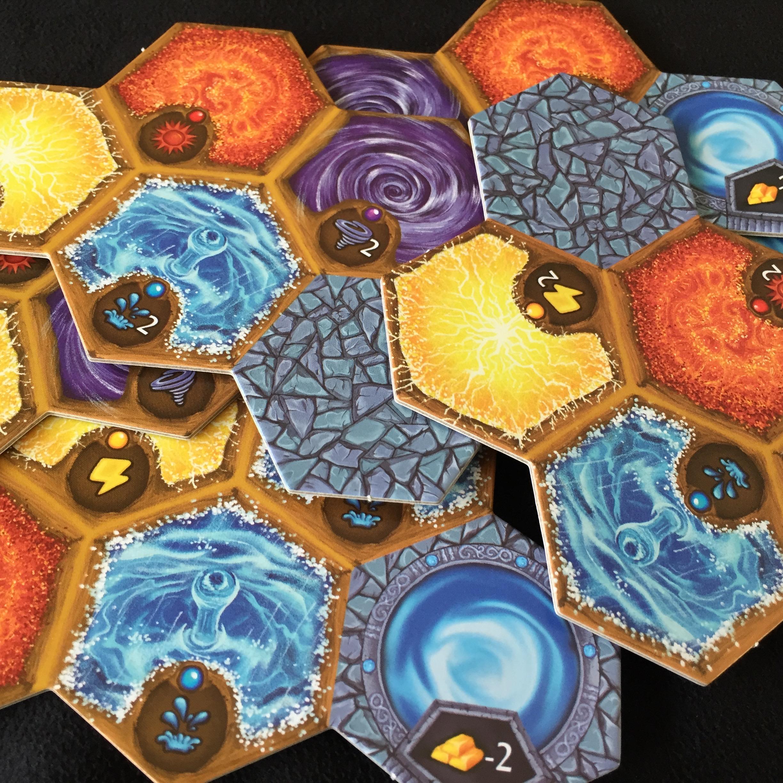 5 terrain tiles