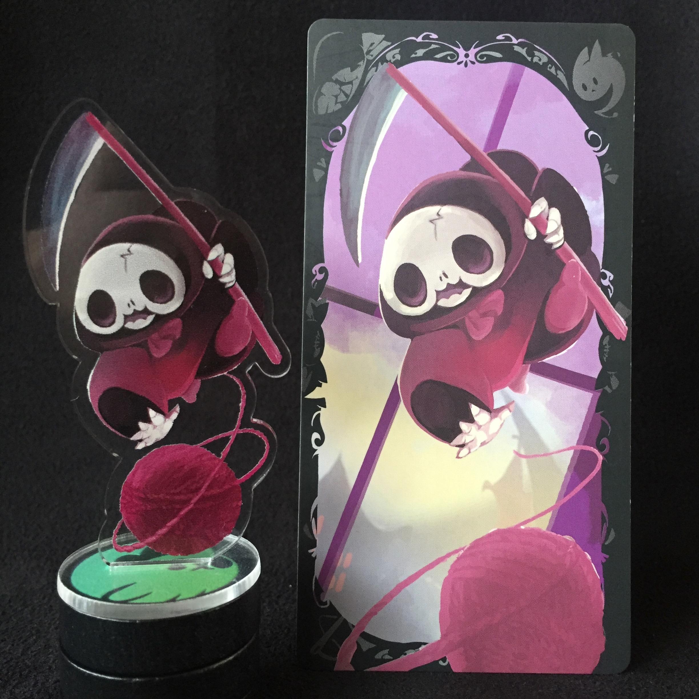 Little Death Promo Standee! 3, 2, 1… Awwwwwwwwwwwwhhhh.