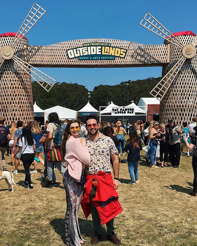 Outside lands, I love you! Best weekend listening to the best bands. Also, I'm digging my 1970 grandma chic look 💃🏻