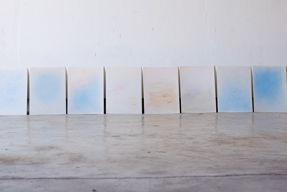 Helen Butler - Sky on Earth series, oil paintings on paper.jpg