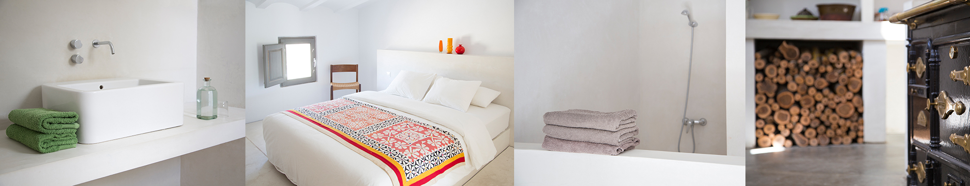 Accommodation is bright, warm and clean with wood heated radiant floors. More images…  https://joya-air.org/centre/