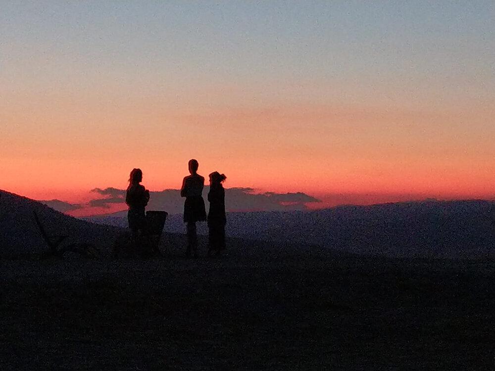 sunset at Joya: AiR