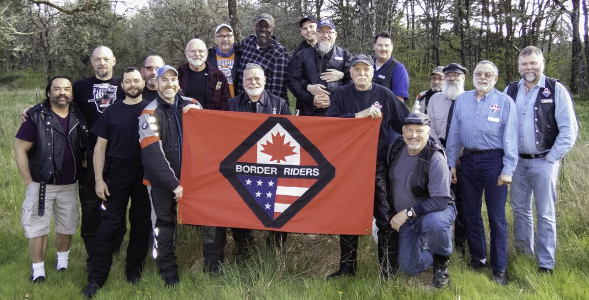 Group photo April Club Meeting in Oakville Washington