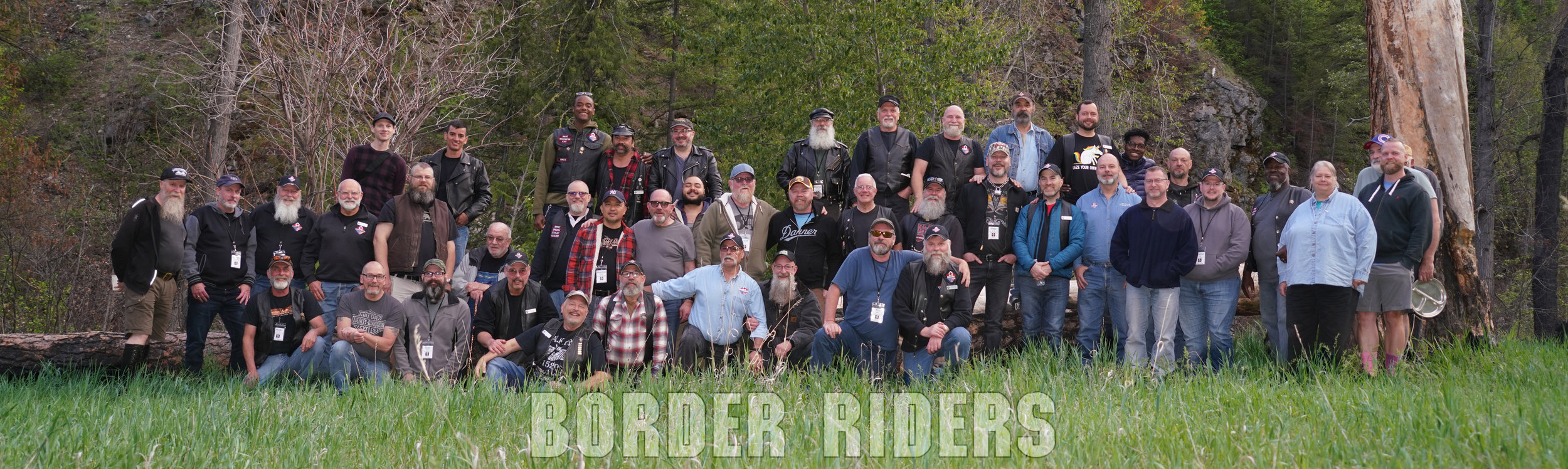 BRMC Group photo, May - Victoria Day Campout