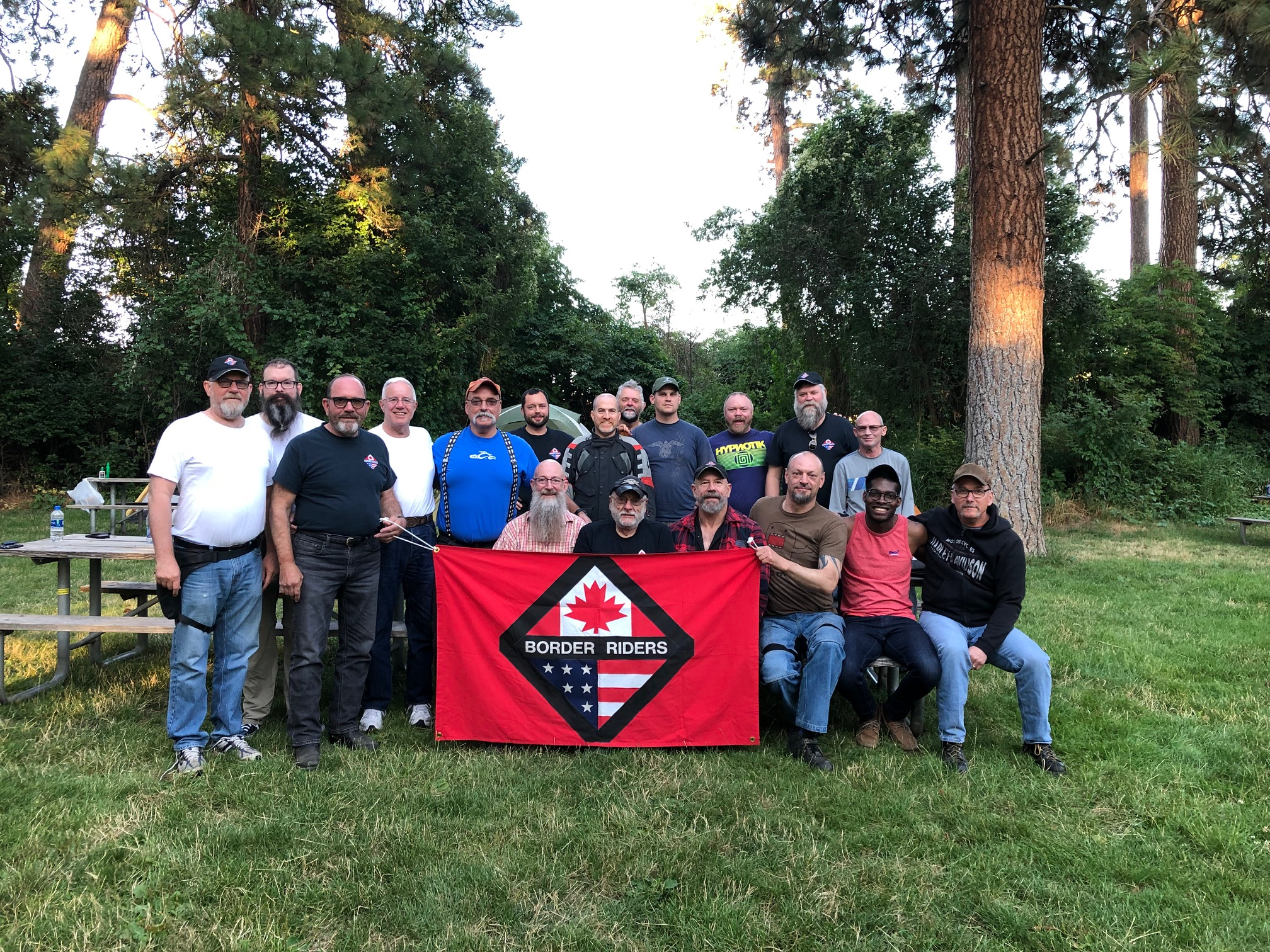 BRMC Group photo @ Lewis & Clark campground