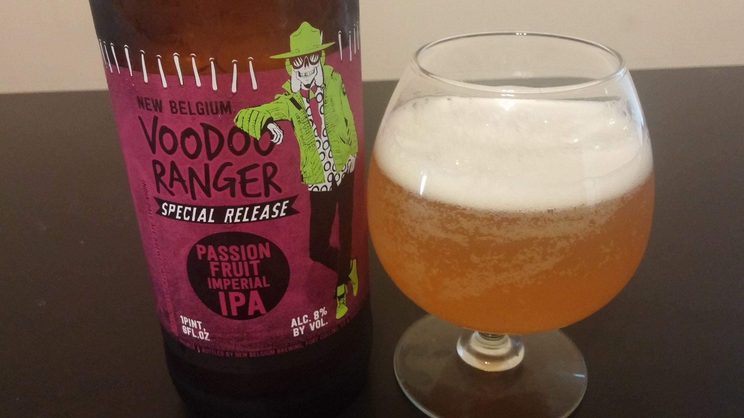 Voodoo ranger passion fruit ipa - Photo by Kevin Gibson