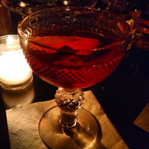 Negroni in T Minor - dig the fancy antique coupe!