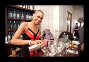 New Amsterdam Gin Martini, courtesy Hanna Lee Communications