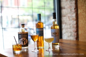 Corsair, Brenne and Compass Box at Whisky Roundtable