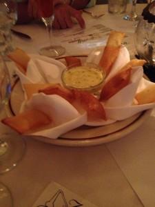 Potato Souffle at the Willett Bourbon Spirited dinner
