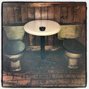 """The """"decor"""" at The John probably seemed like a good idea at the time..."""