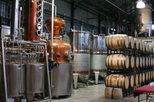 Stills and Barrels at NY Distilling