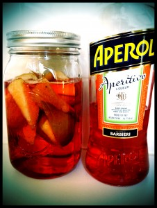 Pears and Aperol, Day One