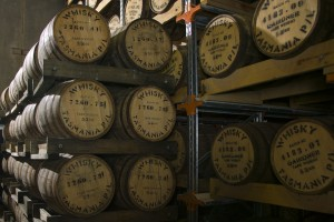 barrels at Hellyers