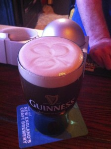 The perfect Guinness pour is a beautiful thing indeed...