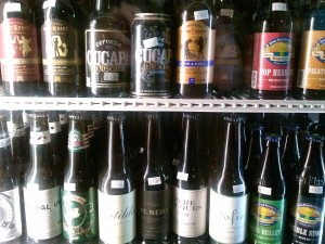 Fridge full of craft! Photo by Kevin Gibson.