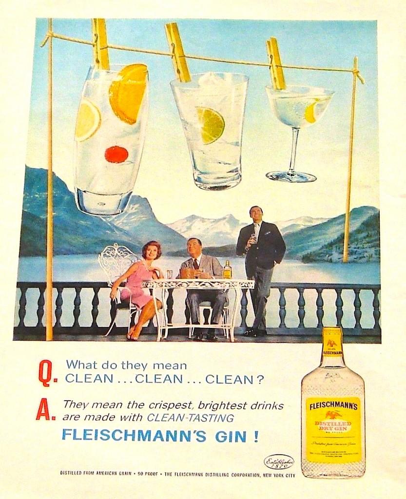 Fleischmann's, 1962