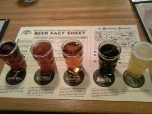 Sampler at Oaken Barrel