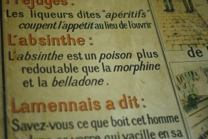 Vintage French Absinthe poster, by Warren Bobrow, Leica M8