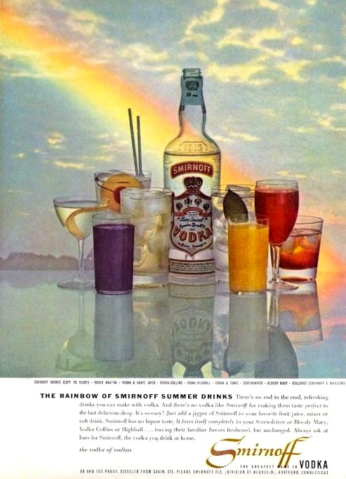 A Smirnoff ad from 1958