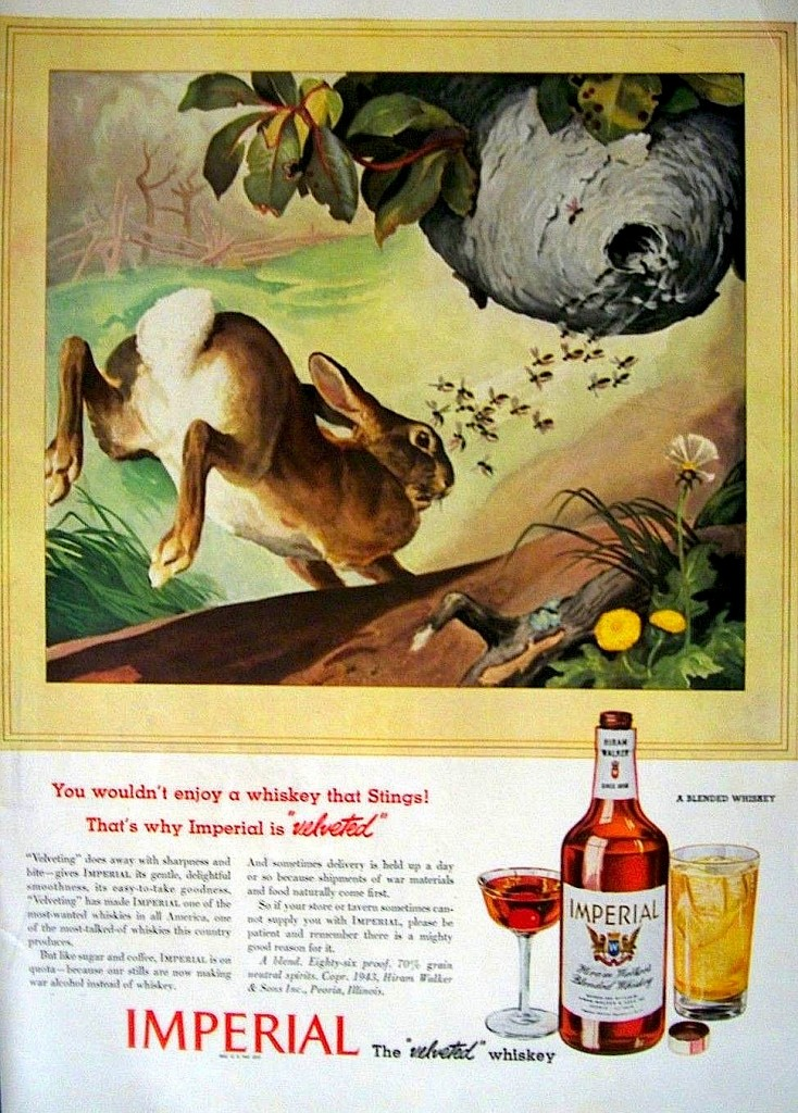 Imperial Whiskey, 1943