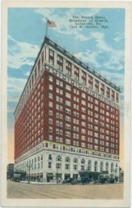 Vintage image of The Brown Hotel