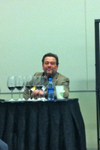 Michel Chapoutier at the Vancouver International Wine Festival.