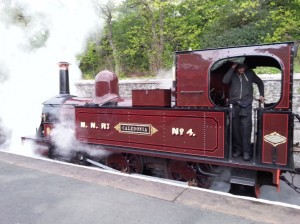 steam train to the beer festival