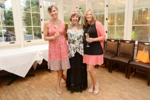 (L-R) Inductees Elayne Duff, Hollis Bulleit and Dunn at the Dame Hall of Fame Luncheon. Ctsy Jennifer Mitchell Photography.
