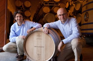 Current winemakers Laurent Delaunay & Vincent Charleux