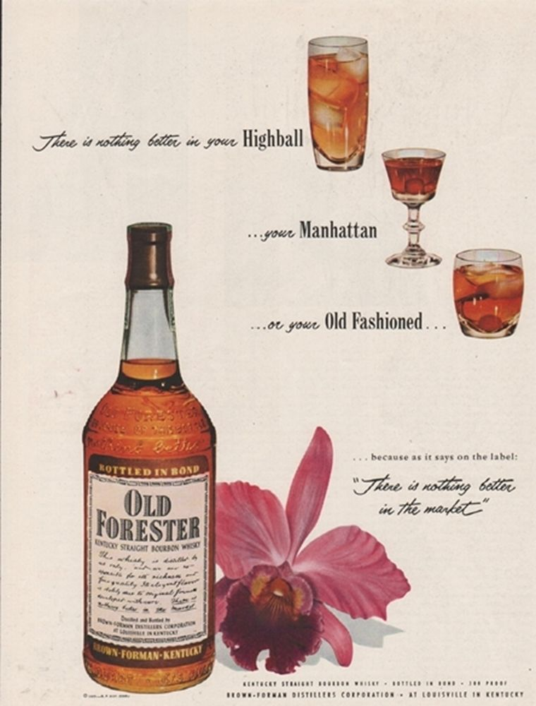 Old Forester, 1953
